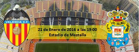 Previa Copa del Rey Valencia CF - UD Las Palmas