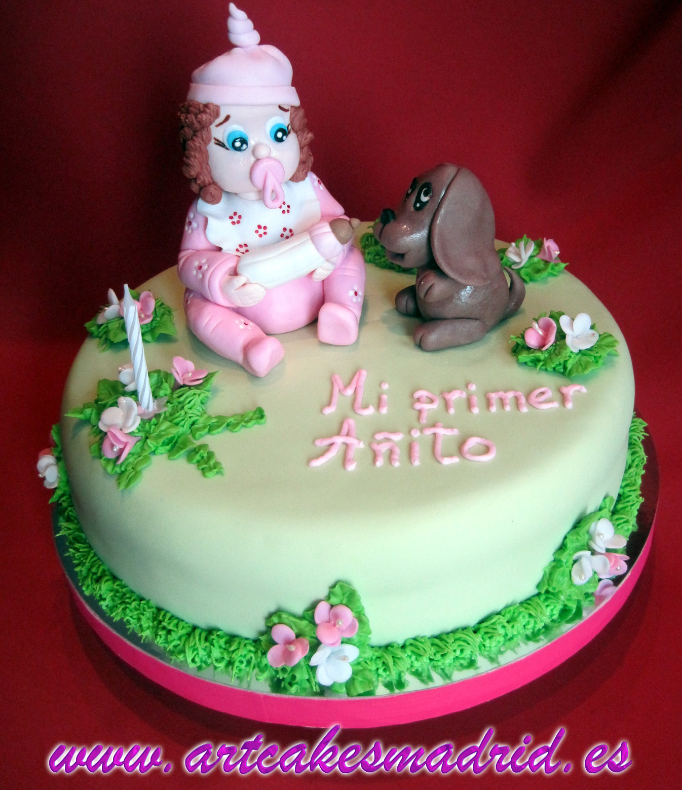 Tarta primer cumpleaños, tartas decoradas