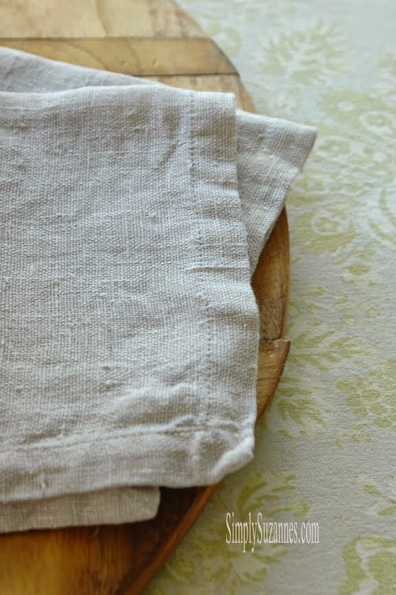Spring linens