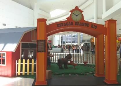 Atrações infantis animam as férias da garotada do Shopping Grande Rio