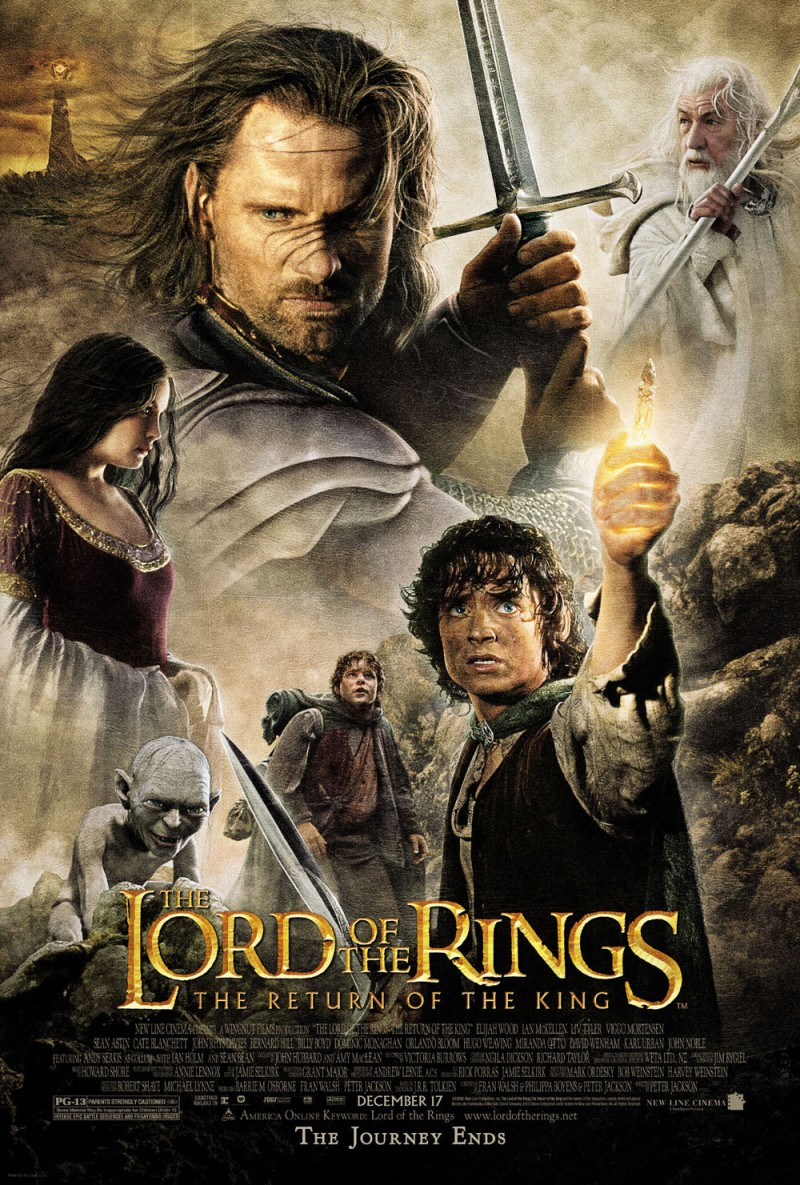 Lord Of The Rings Movie Poster TV and movies: The Lor...