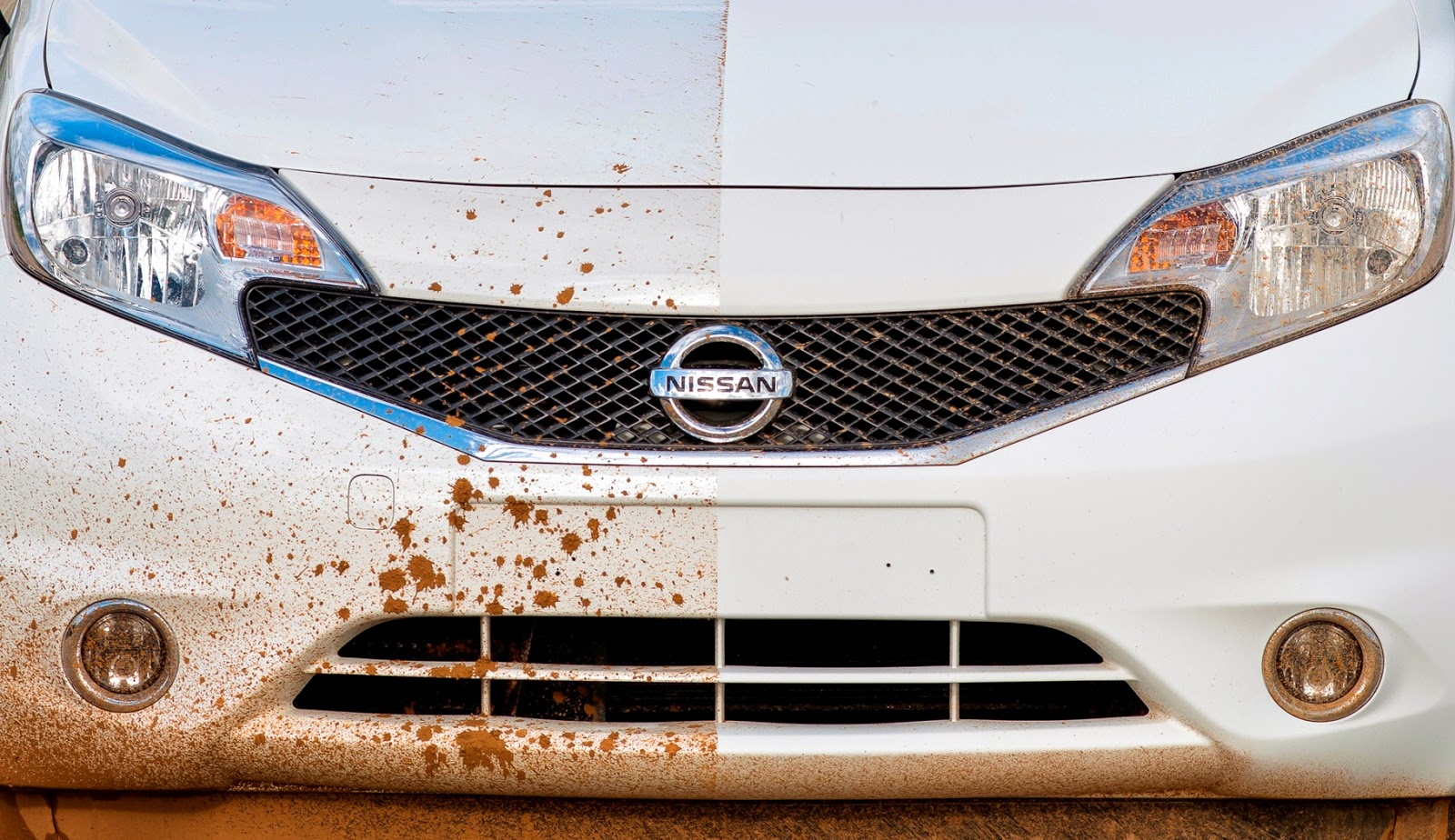 Nissan has invented a self cleaning hydrophobic paint car ~ Tracktec
