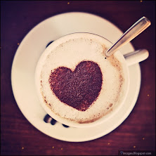 heart, coffee, cup, spoon