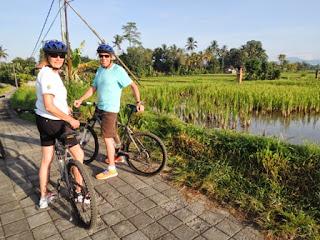 Bali, bike tour, motorbike, village