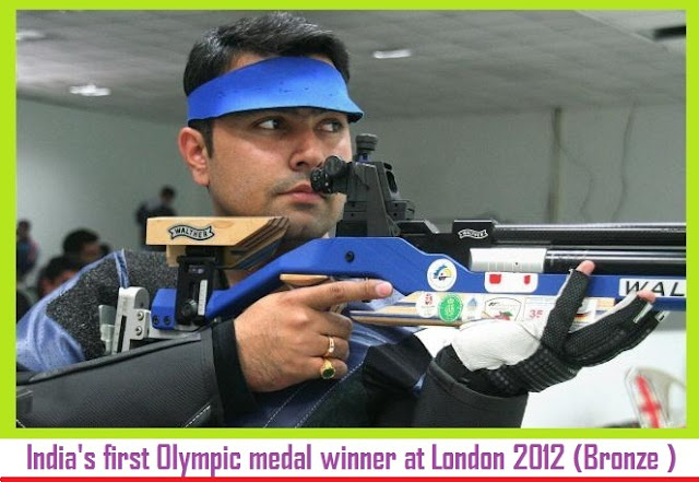 Gagan Narang London Olympics 2012 Bronze first medal to India rifle shooting latest news shooting
