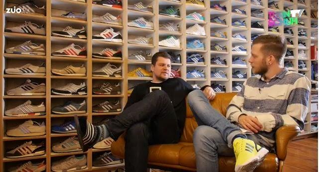 spawnzon blog adidas vintage sammler quote seine sneaker sammlung. Black Bedroom Furniture Sets. Home Design Ideas