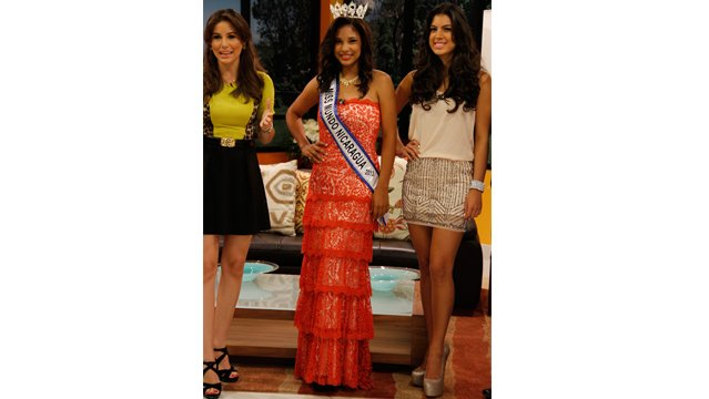 Miss Mundo World Nicaragua 2013 winner Luz Mery Decena Rivera