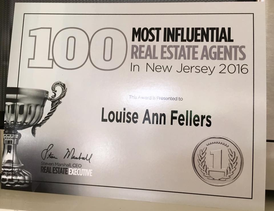 2016 Most Influential NJ Real Estate Agent