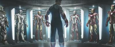 novas armaduras homem de ferro 3