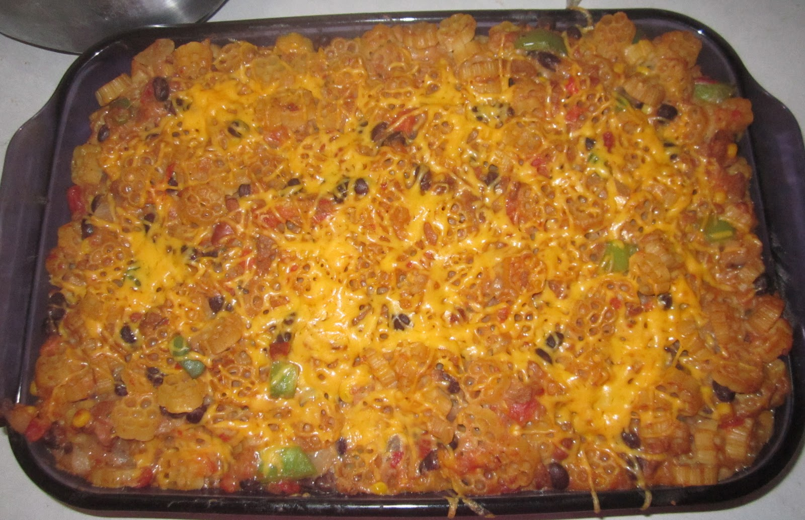 ... Deviled Eggs, Southwestern Casserole, & Vegetarian Beefless Stew
