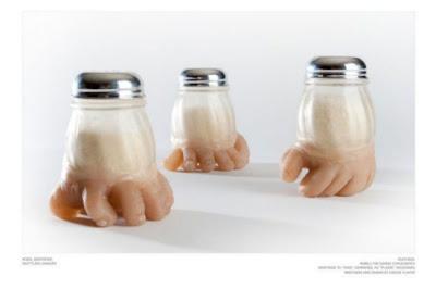 أدوات المطبخ من أعضاء الجسم-منتهى
