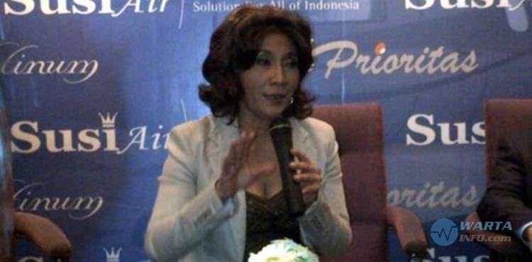 Foto gambar Fakta menteri Susi Pudjiastuti pemilik CEO Susi Air Pangandaran