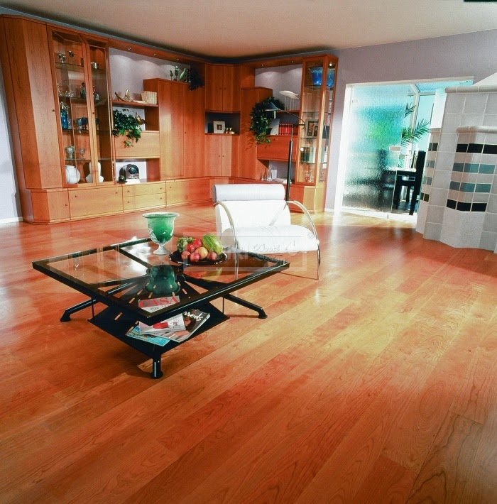 třívrstvá podlaha, třešňové dřevo