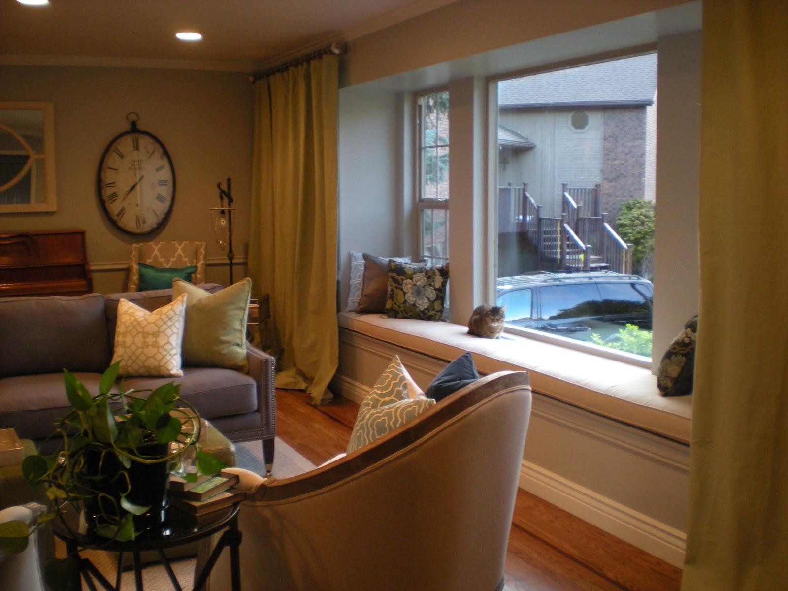 design dump: before + after: formal living room dining ...