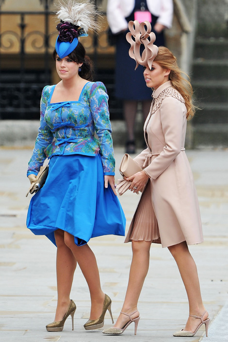 Beatrice And Eugenie Hats | newhairstylesformen2014.com Fergie At Eugenia S Wedding