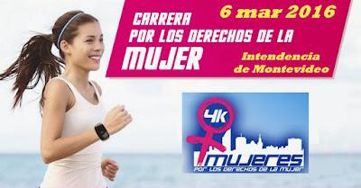 4k Carrera por los Derechos de la Mujer (IMM y CAU, 06/mar/2016)