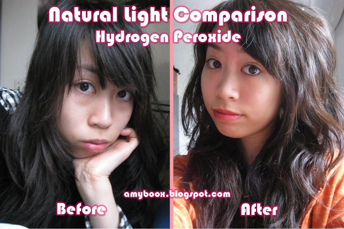 Using Hydrogen Peroxide To Lighten Hair