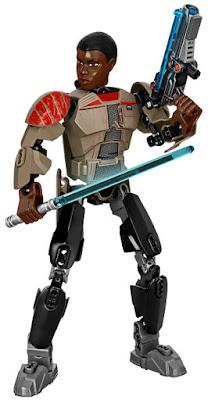 TOYS : JUGUETES - LEGO Star Wars VII  75116 Finn : Figura | Buildable Figures  El Despertar de la Fuerza - The Force Awakens | Disney  Producto Oficial Pelicula 2015 | Piezas: 98 | Edad: 8-14 años  Comprar en Amazon España & buy Amazon USA