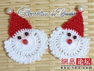 Uncinetto Doro Babbo Natale
