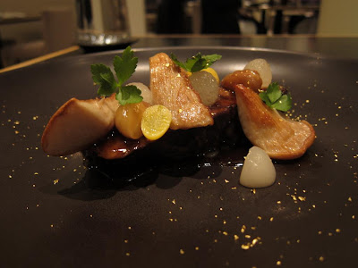 Beef braised in pear at Benu San Francisco