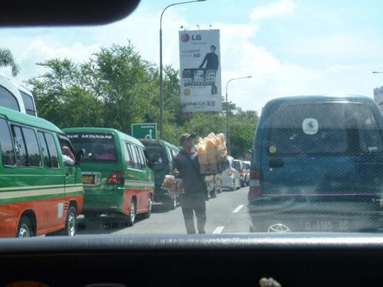 Vendedores en Bandung