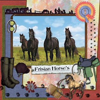 page 1  Frisian Horse's