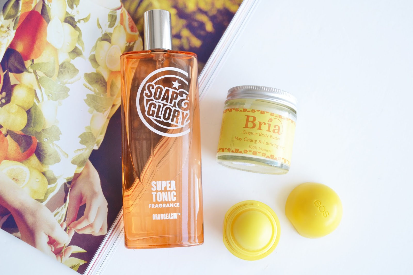 soap and glory super tonic fragrance