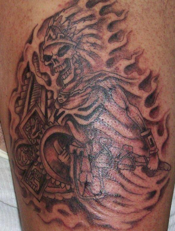 The Ceramic Ware Known As Aztec Aztec Tattoo Aztec Tattoo