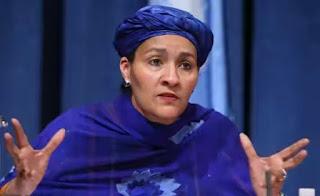 Amina Mohammed speaks on her alleged involvement in $300 timber scandal