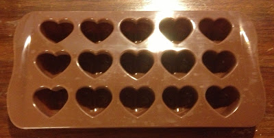 silicone heart mold