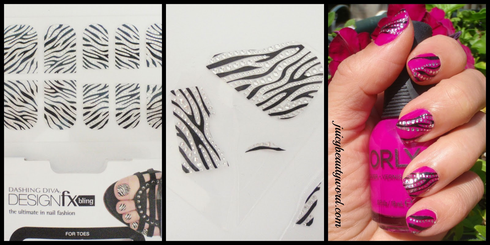 The juicy beauty word july 2014 nail design stickers prinsesfo Gallery