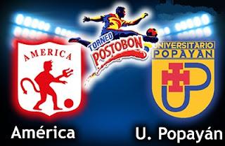 Resultado América de Cali vs. Universitario de Popayán