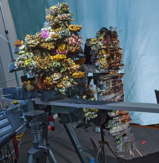 Matthew Albanese fotografia set designer maquetes modelos miniaturas hiper realistas Como respirar embaixo da água - modelo, luzes e set