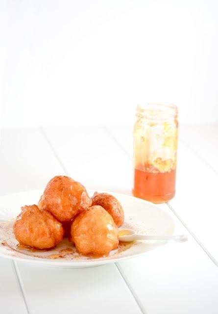 Loukoumades ricetta -pinterest