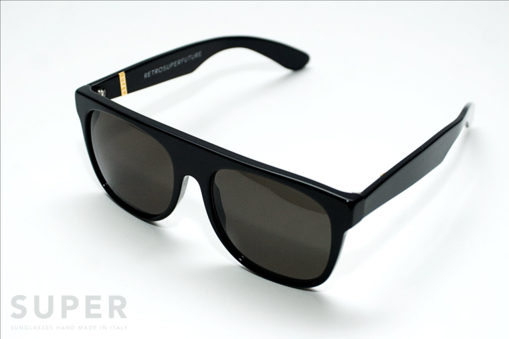 Super Flat Top Sunglasses Black Briar Black Super Flat Top Black
