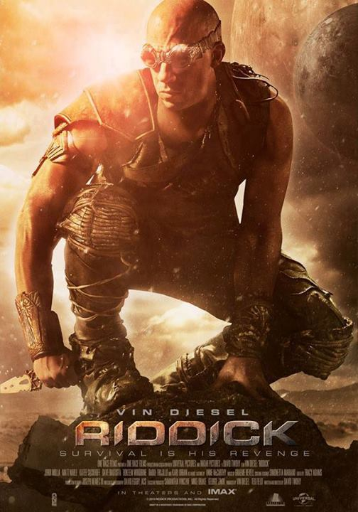 Riddick: Rule the Dark international poster