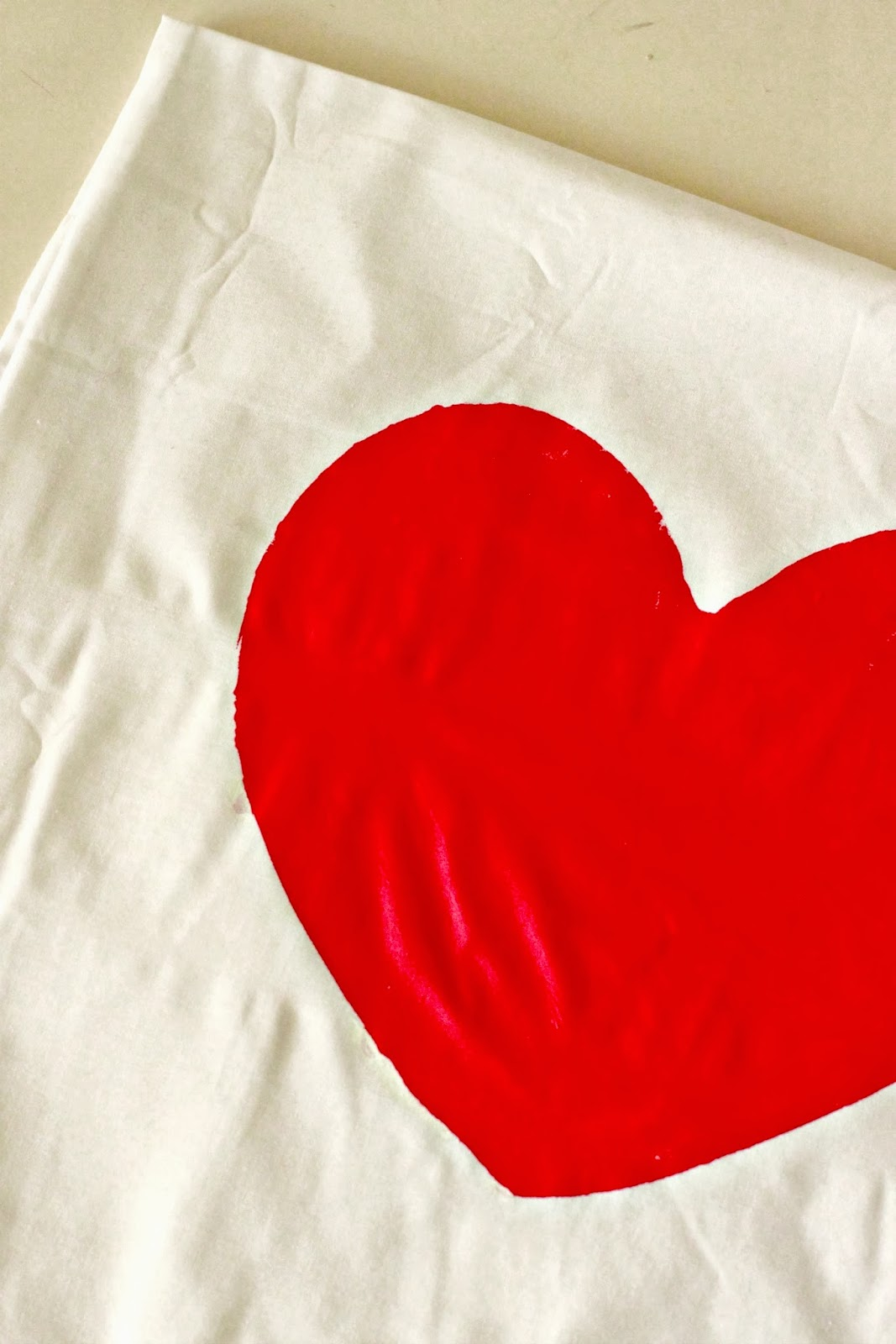 How To Make Removable Throw Pillow Covers With Velcro Closure : Larissa Another Day: Pillowcase Heart Envelope Throwpillow