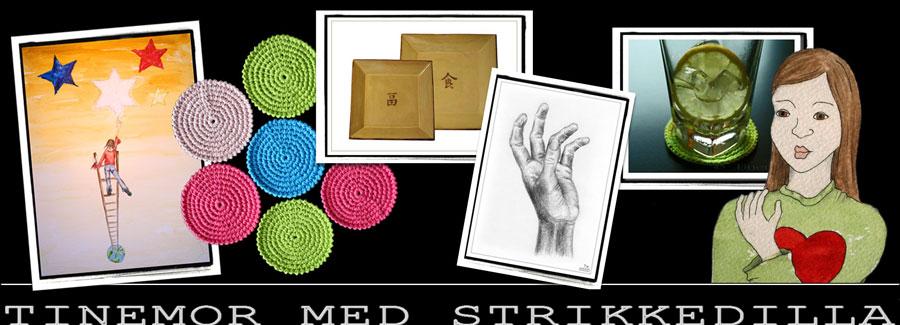 Tinemorsin strikkedilleblogg