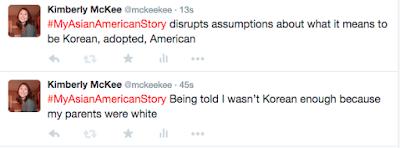 @mckeekee tweets re: #MyAsianAmericanStory