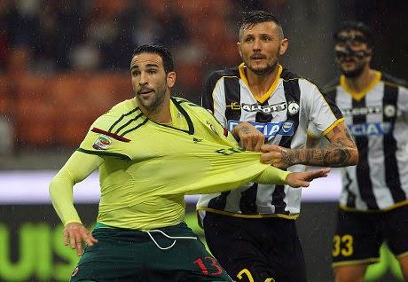 Liga Italia : AC Milan 2-0 Udinese