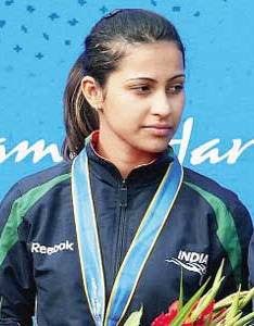 Heena Sidhu Shooting Champion