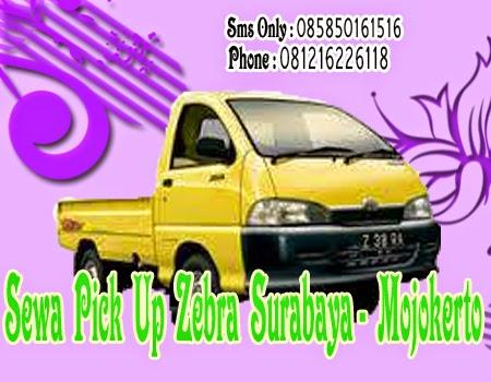 Sewa Pick Up Zebra Surabaya - Mojokerto