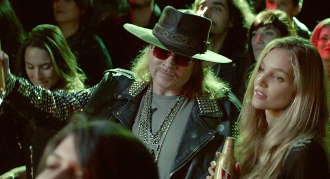 Axl Rose - Guns n 'Roses - Budweiser - spot