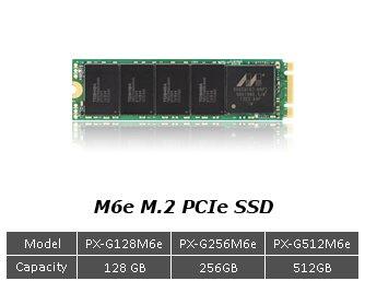Plextor M6e M.2 SSD