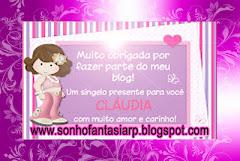 Selinho da minha amiga Claudina