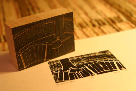 In The Know Ledge Woodblock Printing