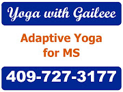 Adaptive Chair Yoga<br> with Gaileee. Nederland, Tx.