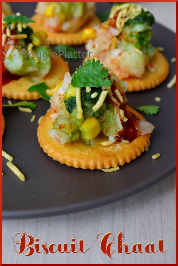 Biscuit – Corn Chaat