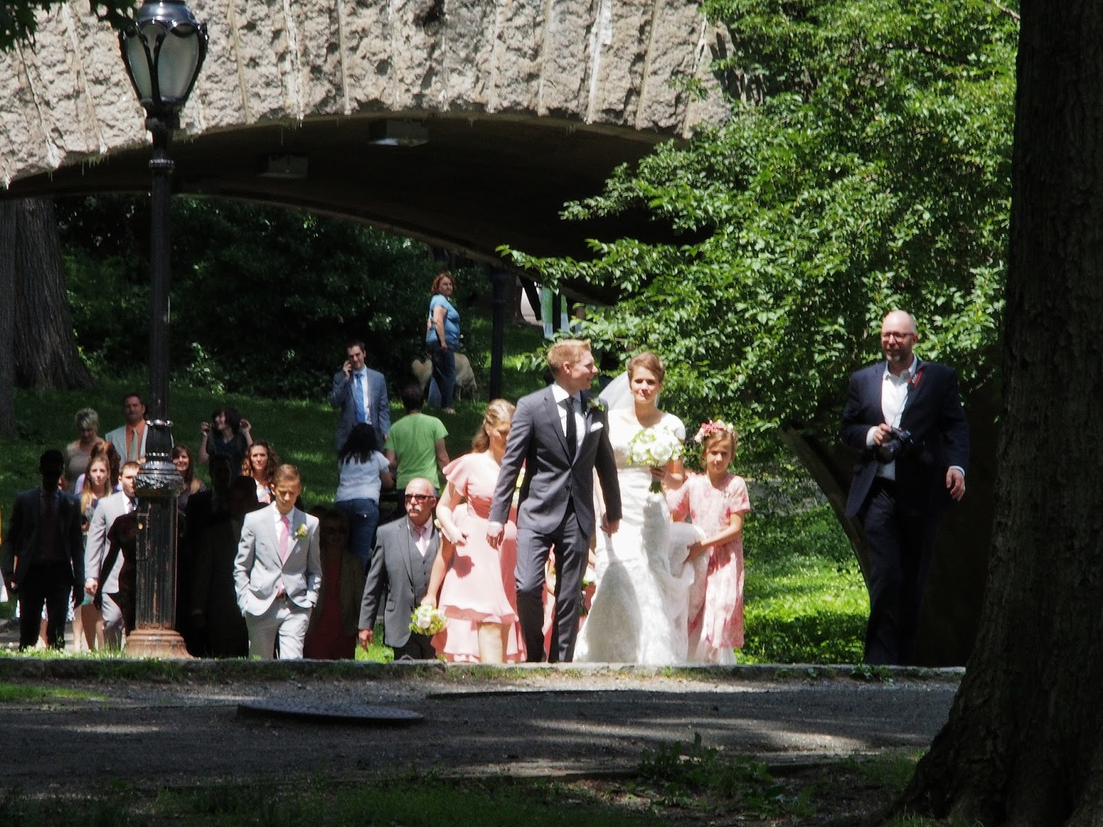 Wedding Party, #centralpark #nyc #wedding 2014