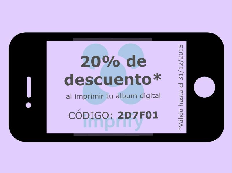 descuento imprify photobook
